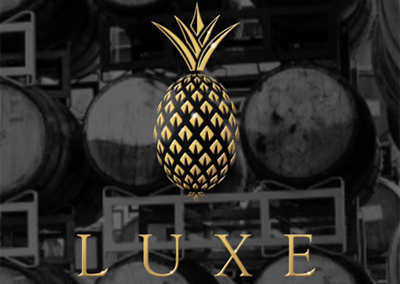Luxe logo and website by Peter Hutcheson Design.